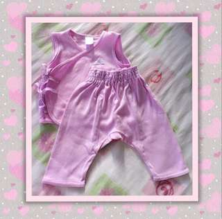 Enfant Side Tie Top with Matching Pants