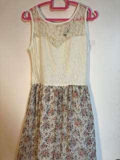 Lace Flower Dress