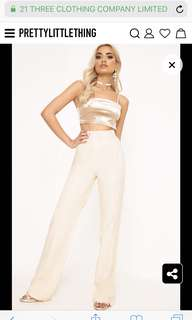 Pretty Little Thing High Wasted Trouser Pants