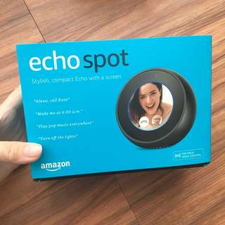 Amazon echo spot BNIB