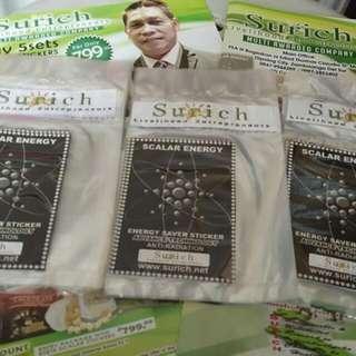 Surich Scalar Energy Saving Stickers
