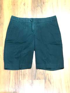 Forest Green Mango bermudas/shorts