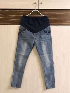 牛仔孕婦褲