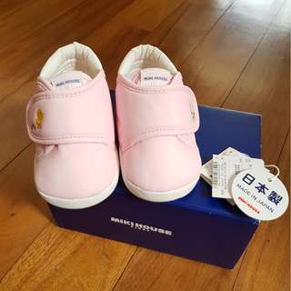 MikiHouse First Shoes Size 12.5 - Almost NEW