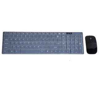 Optical Wireless Keyboard and Mouse USB Receiver Kit