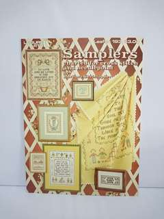 Cross Stitch Book - Samplers