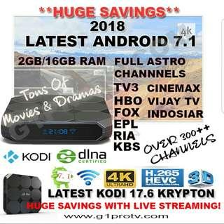 (INSTOCKS) ANDROID TV BOX 2GB/16GB