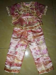 Setelan celana anak 2-3 thn