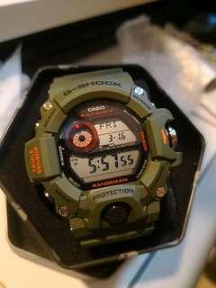 GW-9400CMJ Rangeman 日版 迷彩碳纖電波貓 casio G-shock