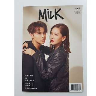 <Final Discount> 曾之喬 & 王子 邱勝翊 Milk Magazine TW + bonus autographed photo!
