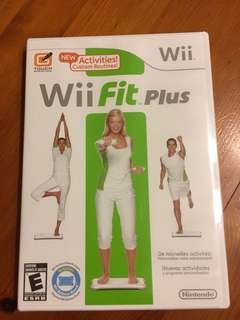 Wii Fit dvd brand new in cellophane wrapper