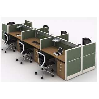 Office Partition - Full Fabric Partition