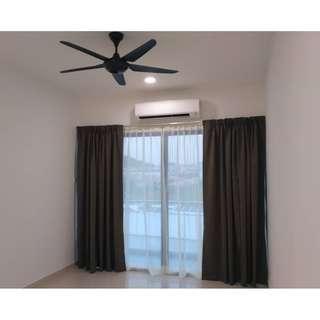 Damai Hillpark Condo, Cheras KL (Partially furnished) BRAND NEW