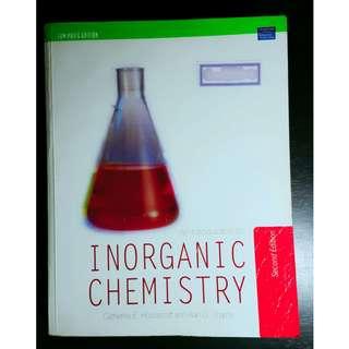 INORGANIC CHEMISTRY Book (Housecroft et al.)