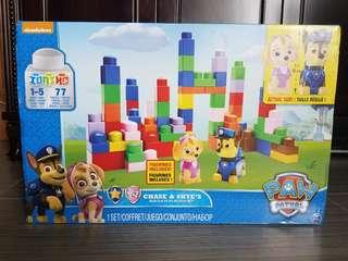 全新🐶狗狗巡邏隊 Paw Patrol Chase & Skye's Build & Play Block Set Lego