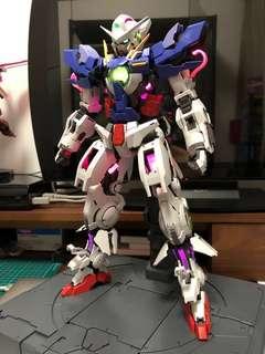 Bandai PG Gundam Exia Lighting Model(Built)