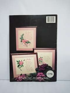 Cross Stitch Book - Expressions Of love