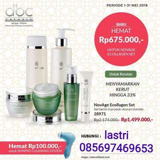 Skincare novage ecollagen set