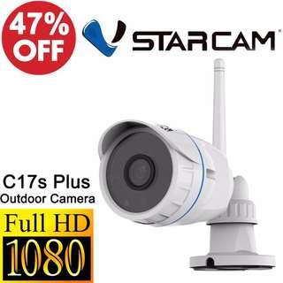 Vstarcam C17S Plus 1080P FullHD IP67 Waterproof Outdoor IPCamera $159