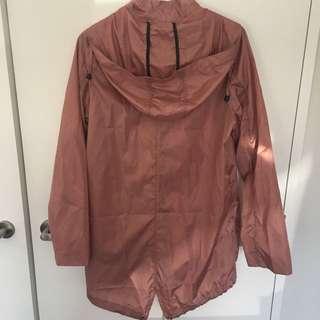 ASOS Nude/pink Rain Coat