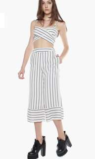 YHF Young Hungry Free Stripe Top