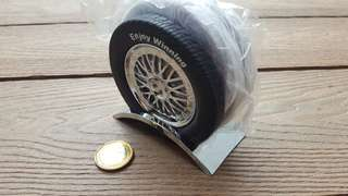 Coaster in car tire design by Tiger