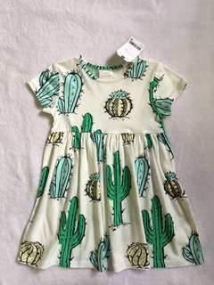 Bnwt Next uk cactus print dress