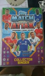 Match attax soccer football card 足球卡