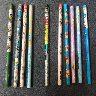 Sanrio 卡通 中古絕版鉛筆