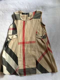 Burberry dress (not authentic)