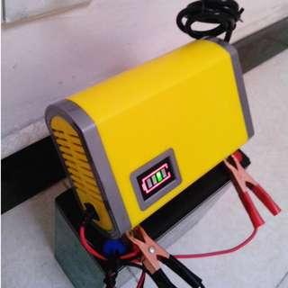 Pengecas Bateri Kereta 12Volt