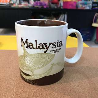 Malaysia Starbucks Icon City Mug
