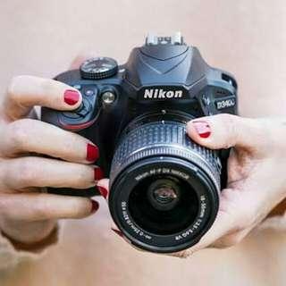 Kredit Kamera Nikon D3400 Proses Crpat