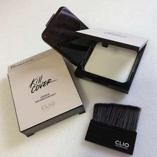 BNIB Clio Cover Airwear Skin Smoother Pact