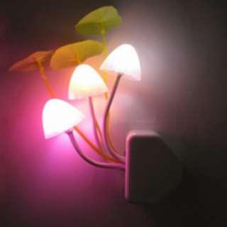 Lampu tidur malam berbentuk jamur  - hhm115