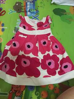 Good condition 6-12 months gymboree dress