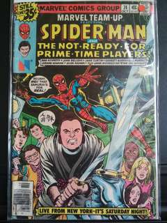 Marvel Team Up Prime Time Special Rare.