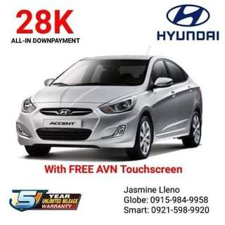 Brand New Hyundai Cars All in Low DP Fast Approval