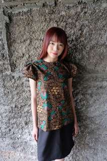 Wildfeower Batik Top