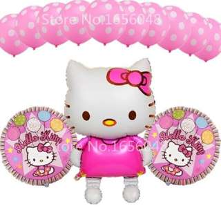13 Pcs Hello Kitty Balloon Set **