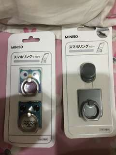 Miniso ring stand