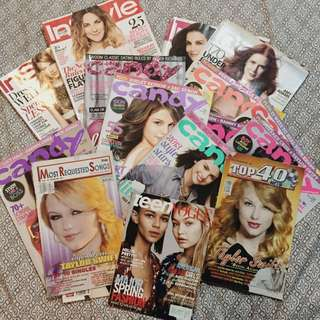 (get all) magazines