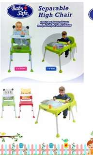 Baby safe high chair NEW