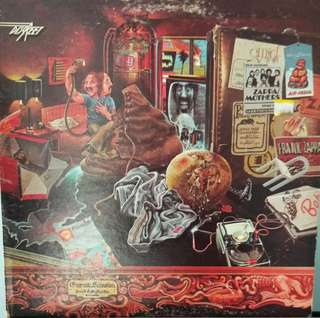 arthlp FRANK ZAPPA (MOTHERS OF INVENTION) Over-Nite Sensation LP Vinyl Record