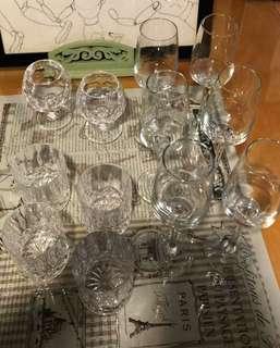 紅酒杯+威士忌杯  ( 8 items )