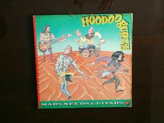 HOODOO GURUS . Mars needs guitars . Vinyl record