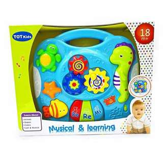 Marine Animals Musical and Learning Toy