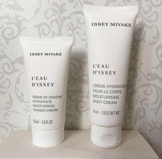 Issey Miyake Body Cream & Shower Cream Bundle