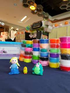Children's clay 36 colours
