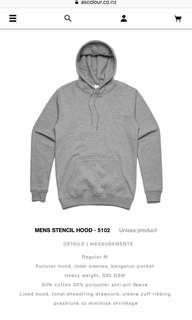Grey AS Colour Hoodie
